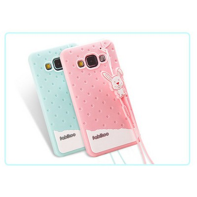 Microsonic Fabitoo Samsung Galaxy A3 Candy Kılıf Turkuaz Cep Telefonu Kılıfı