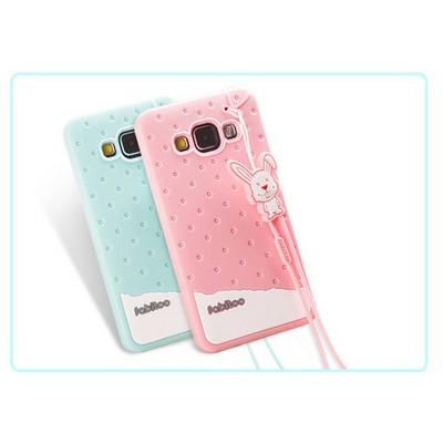 Microsonic Fabitoo Samsung Galaxy A3 Candy Kılıf Pembe Cep Telefonu Kılıfı