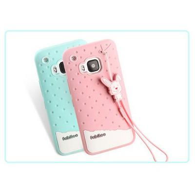 Microsonic Fabitoo Htc One M9 Candy Kılıf Pembe Cep Telefonu Kılıfı