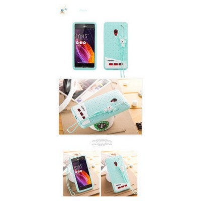 Microsonic Fabitoo Asus Zenfone 5 Candy Kılıf Turkuaz Cep Telefonu Kılıfı