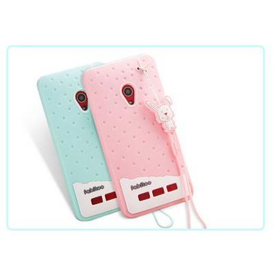 Microsonic Fabitoo Asus Zenfone 5 Candy Kılıf Pembe Cep Telefonu Kılıfı