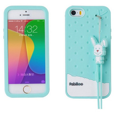 Microsonic Fabitoo Iphone 5s Candy Kılıf Turkuaz Cep Telefonu Kılıfı