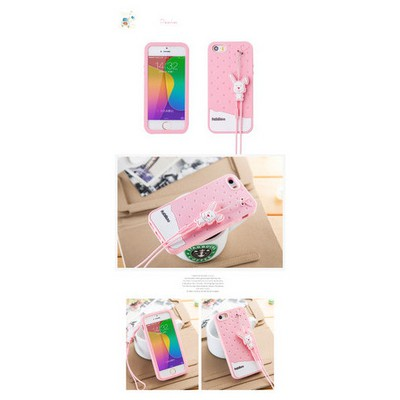 Microsonic Fabitoo Iphone 5s Candy Kılıf Pembe Cep Telefonu Kılıfı