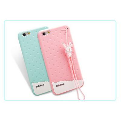 Microsonic Fabitoo Iphone 6 Plus Candy Kılıf Pembe Cep Telefonu Kılıfı
