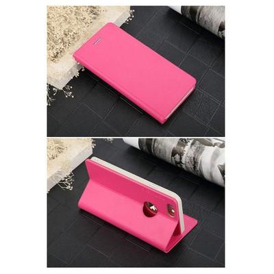 Microsonic Totu Design Book Series Iphone 6 Side Leather Standlı Kılıf Pembe Cep Telefonu Kılıfı