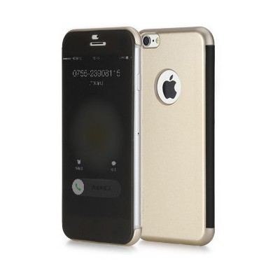 Microsonic Rock Dr.v Iphone 6 Invisible Smart Uı Transparent Kılıf Gold Cep Telefonu Kılıfı