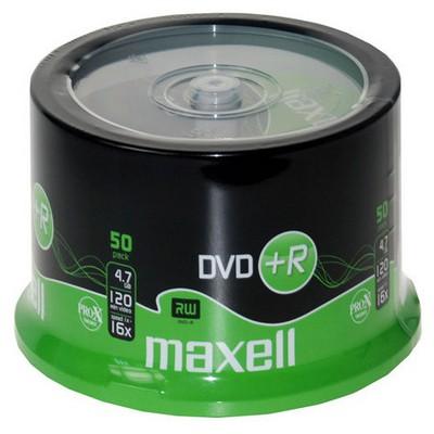 Maxell Dvd+r 16x 50lı Cb - 275640.99.ın CD/DVD