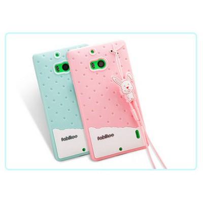 Microsonic Fabitoo Nokia Lumia 930 Candy Kılıf Turkuaz Cep Telefonu Kılıfı