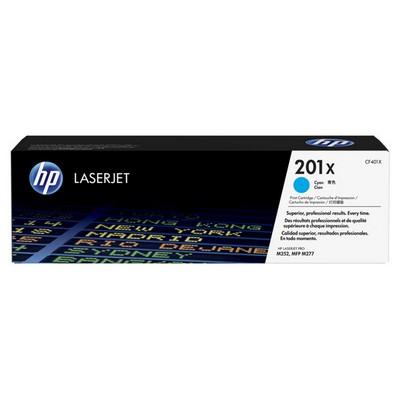 HP CF401X 201X Yüksek Kapasiteli LaserJet Mavi Toner