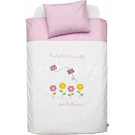 Funna Baby Park Yatak Uyku Seti Butterfly Nevresim Takımı