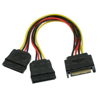 Dark P202 15pin Sata - 2x15pin Sata Dönüştürücü USB Kablolar