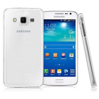 Microsonic Kristal Şeffaf Samsung Galaxy A7 Kılıf Cep Telefonu Kılıfı