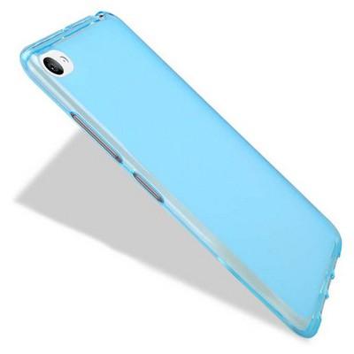 Microsonic Transparent Soft Lenovo S90 Sisley Kılıf Mavi Cep Telefonu Kılıfı