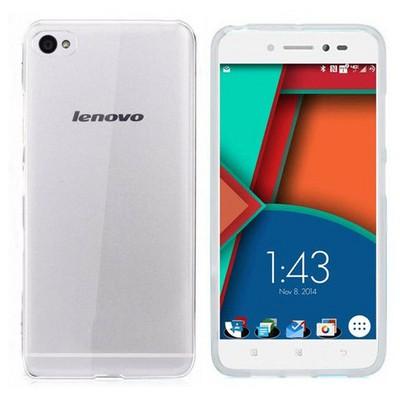 Microsonic Transparent Soft Lenovo S90 Sisley Kılıf Beyaz Cep Telefonu Kılıfı