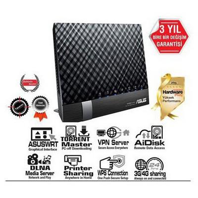 Asus Dsl-n17u Torrent,vpn,3g,vdsl,fiber Gbit Modem DSL Modem