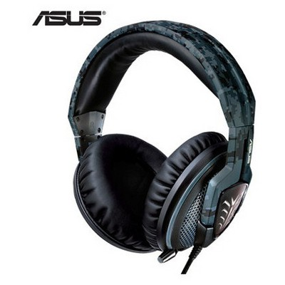 Asus Echelon Navy, Kafa Bantlı, Siyah, Kablolu, Kulaklık Kafa Bantlı Kulaklık