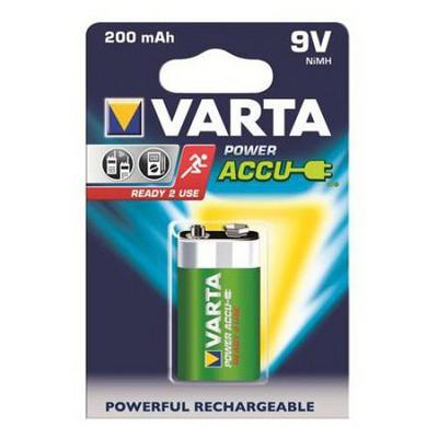 Varta Power Accu 9v 0-e 200mah Pil / Şarj Cihazı