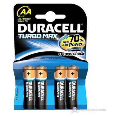 Duracell Turbo Plus Kalem Pil Aa 035.503.004 Pil / Şarj Cihazı