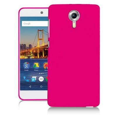 Microsonic Glossy Soft General Mobile Android One 4g Kılıf Pembe Cep Telefonu Kılıfı