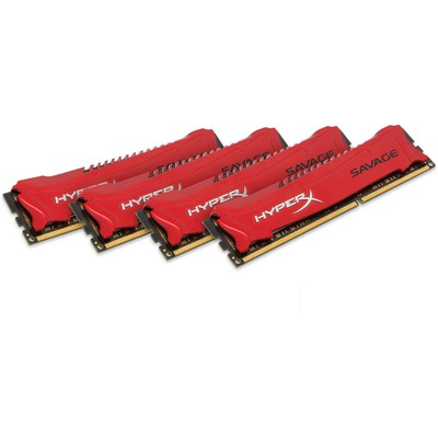Kingston HyperX Savage 4x8GB Bellek (HX318C9SRK4/32)