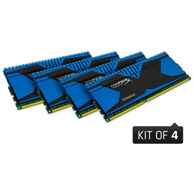 Kingston 16GB 1866MHz DDR3 Non-ECC CL9 DIMM (Kit of 4) XMP RAM