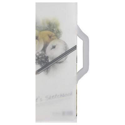Notte Spiralli Plastik Kapak 34x49 Cm Artist Sketcbook 60 Yaprak Resim Defteri