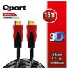 Q-hdmı15 Qport Q-hdmı15 To Hdmı15 1.4 3d 15 Metre