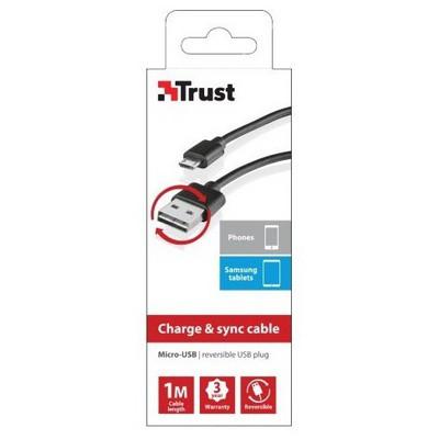 Trust 20367 Micro-Usb  1m Güç Kablosu