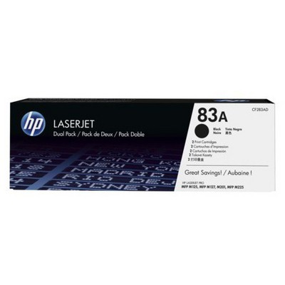 HP 83A CF283AD 2'li Toner