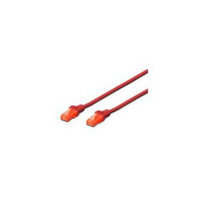 Digitus Dk-1614-010-r Patch Kablo, U-utp, Cat. 6, 1 Metre, Awg 26/7, Kırmızı Renk Network Kablosu