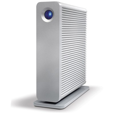 Lacie 4tb 3.5 Inc Lac9000258ek D2 Quadra 2x Fırewıre 800 & Usb 3.0 Raıd 0,1 Fansız Harici Disk (mac + Pc) Taşınabilir Disk