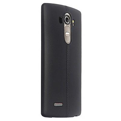 Microsonic Line Style Silikon Lg G4 Kılıf Siyah Cep Telefonu Kılıfı