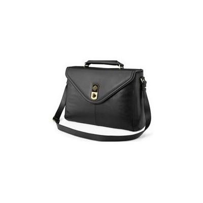 Marshall Bergman Lily Deri Çanta 13''-siyah Laptop Çantası