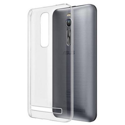 Microsonic Kristal Şeffaf Asus Zenfone 2 5.5'' Kılıf Cep Telefonu Kılıfı