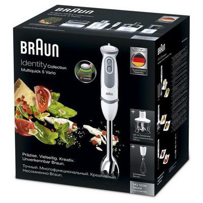 Braun Multiquick 5 MQ 5035 Sauce El Blender Seti