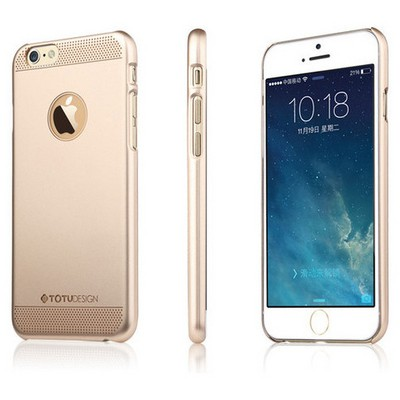 Microsonic Totu Design Ambulatory Series Iphone 6 Pus Kılıf Gold Glamor Queen Cep Telefonu Kılıfı