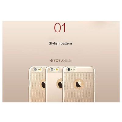 Microsonic Totu Design Ambulatory Series Iphone 6 Pus Kılıf Gold Glamor Queen Cep Telefonu Kılıfı