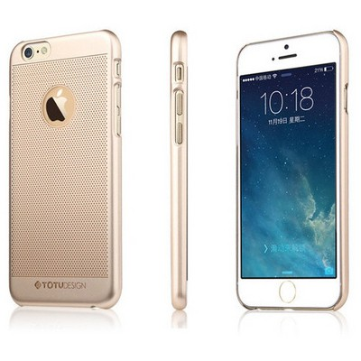 Microsonic Totu Design Ambulatory Series Iphone 6 Plus Kılıf Gold Elegant King Cep Telefonu Kılıfı