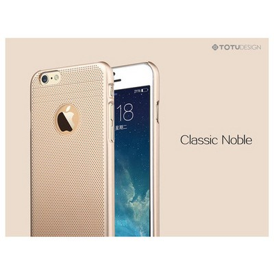 Microsonic Totu Design Ambulatory Series Iphone 6 Plus Kılıf Gold Classic Noble Cep Telefonu Kılıfı