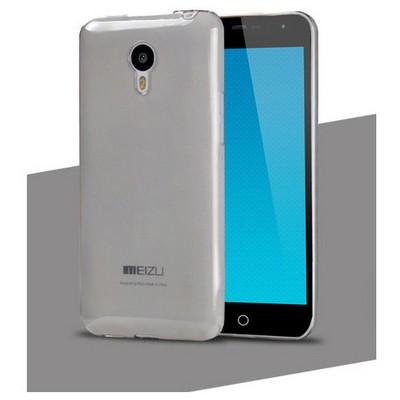 Microsonic Transparent Soft Meizu Mx4 Kılıf Siyah Cep Telefonu Kılıfı