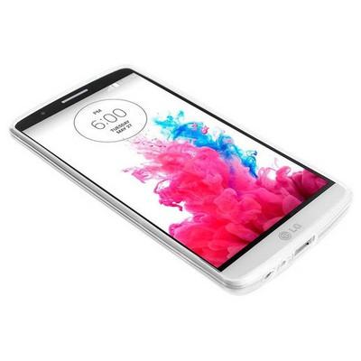 Microsonic Transparent Soft Lg G3 Kılıf Beyaz Cep Telefonu Kılıfı