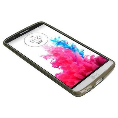 Microsonic Transparent Soft Lg G3 Kılıf Siyah Cep Telefonu Kılıfı
