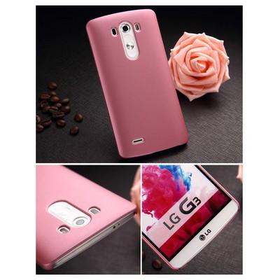 Microsonic Premium Slim Kılıf Lg G3 Pembe Cep Telefonu Kılıfı