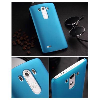 Microsonic Premium Slim Kılıf Lg G3 Mavi Cep Telefonu Kılıfı