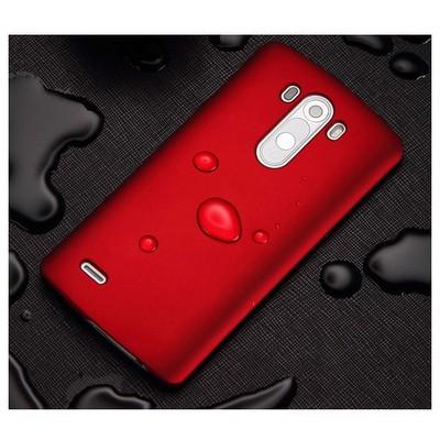 Microsonic Premium Slim Kılıf Lg G3 Kırmızı Cep Telefonu Kılıfı