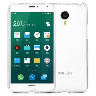 Microsonic Transparent Soft Meizu Mx4 Pro Kılıf Şeffaf Cep Telefonu Kılıfı