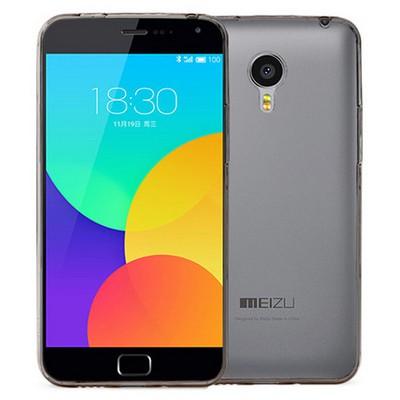 Microsonic Transparent Soft Meizu Mx4 Pro Kılıf Siyah Cep Telefonu Kılıfı