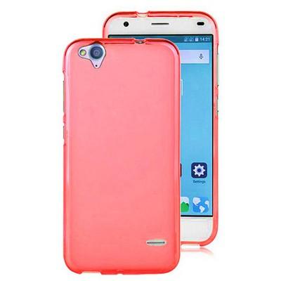 Microsonic Glossy Soft Turkcell T60 Kılıf Kırmızı Cep Telefonu Kılıfı