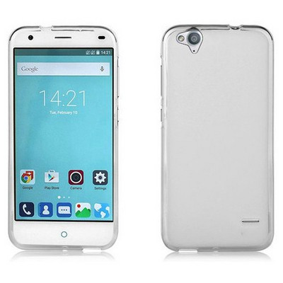 Microsonic Glossy Soft Turkcell T60 Kılıf Beyaz Cep Telefonu Kılıfı
