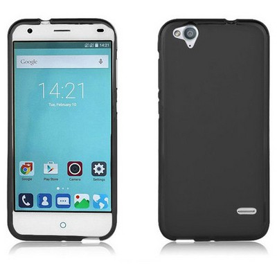 Microsonic Glossy Soft Turkcell T60 Kılıf Siyah Cep Telefonu Kılıfı